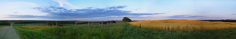 saskatchewan prairie panorama