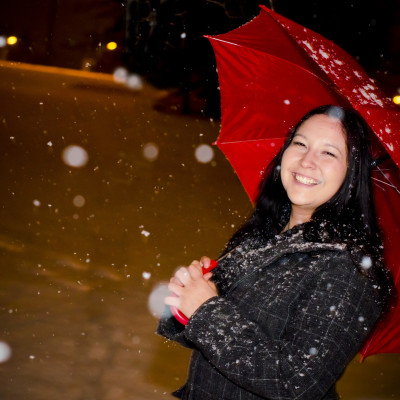 Jen in the Snow