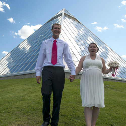 Allie and Mike's Wedding – Muttart Conservatory
