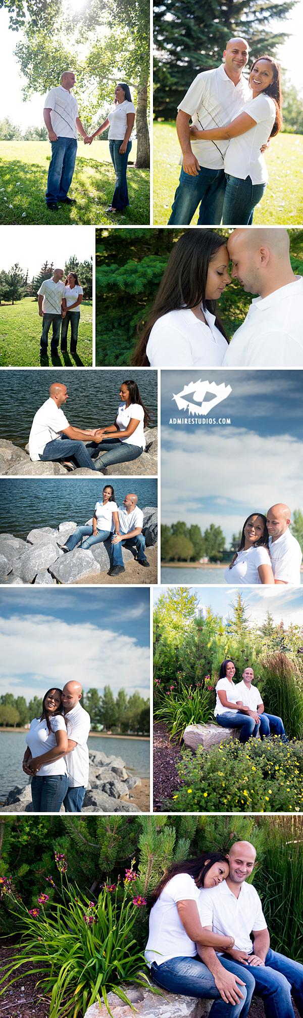 calgary engagement photos