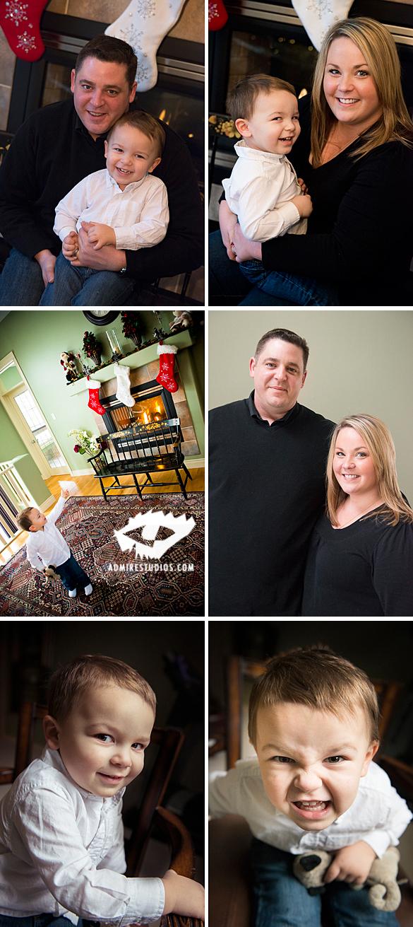 christmas family photos professional