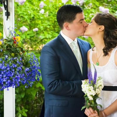 Kaitlyn and Clay- Backyard Wedding in Calgary
