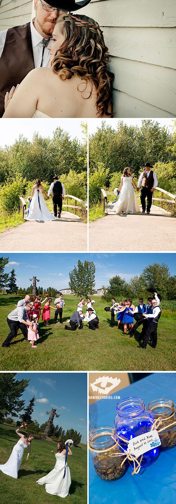 Edmonton Western Wedding