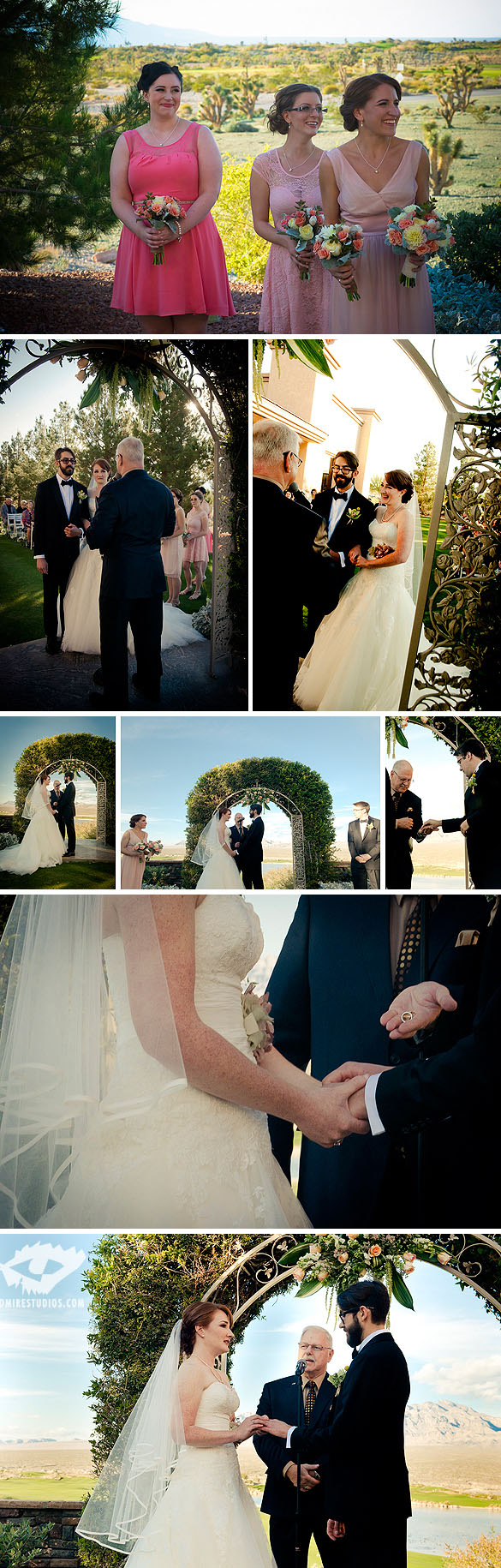 Patrick & Lindsay Country Club Wedding - Las Vegas, Nevada
