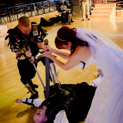 Mel & Nick Military/ Live Action Role Play Wedding
