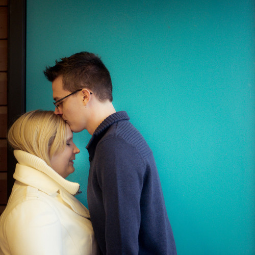 Derrick & Christina Winter Engagement – Edmonton