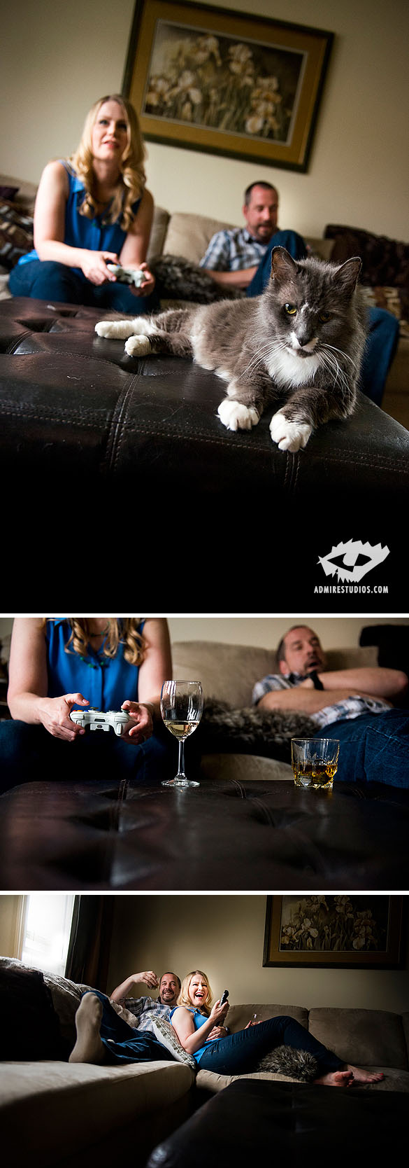 Gamer Engagement Photography