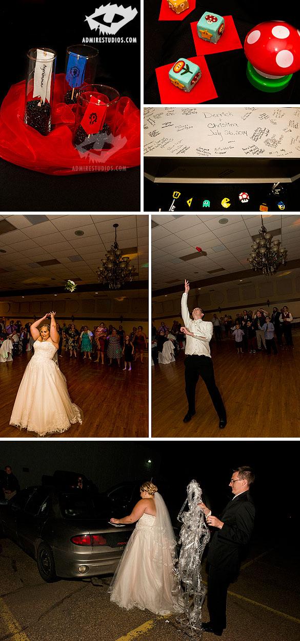 Gamer wedding Photography