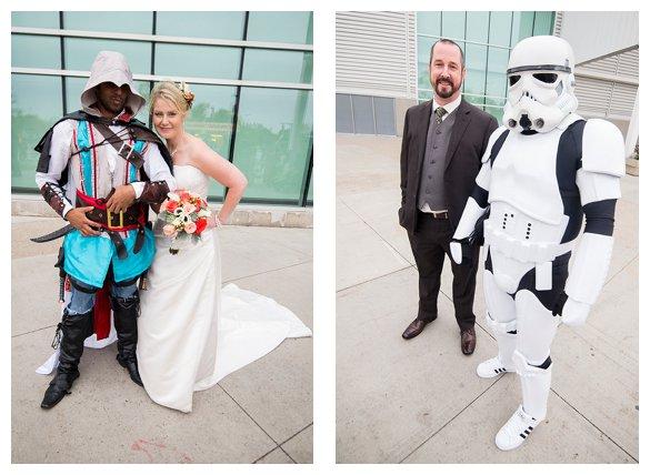 gamer wedding photos