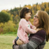 Fall Family and Toddler Portraits in Rundle Park